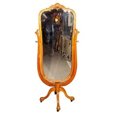 19th Century Cheval Mirror  FRANCE