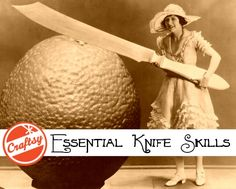 Learning basic knife skills is essential for anyone who cooks. Click through to take a FREE class on knife skills!