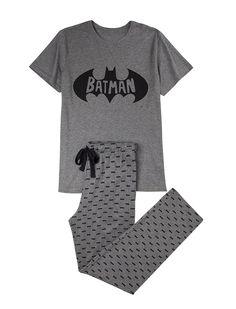 Long Batman pyjama for men