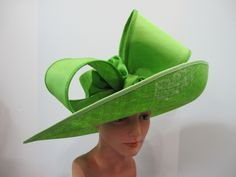 If you need a hat for the Kentucky Derby, The Royal Ascot or you need a fabulous wedding hat, a wonderful dressy ladies Church hat or a hat for any special occasion take a look at this fantastic collection of ladies hats, hand made by the greatest American and European designers.