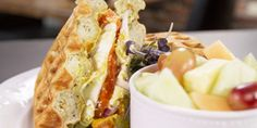 Pacific Waffle Sandwich