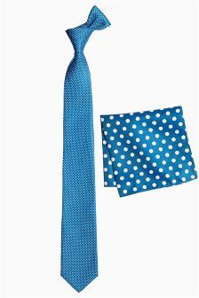 Teal Spotted Tie And Pocket Square Blue Ties, Tie And Pocket Square, Teal, Stuff To Buy, Shopping, Color, Drive Way, Colour, Turquoise
