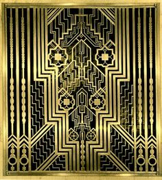 Art Deco Design Elements | ... +Bronze+Grill+-+Art+Deco+-+Elements+of+Design+-+Peter+Crawford.jpg