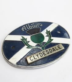 Albion Motors 'Clydesdale' lorry badge