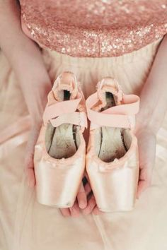 ballerina pointe slippers