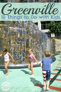 10 Things to Do with Kids in Greenville, SC (just needs picture) - There are so many fun activities for kids in Greenville South Carolina! South Carolina Vacation, Greenville South Carolina, North Carolina, Vacation Places, Vacation Spots, Vacation Ideas, Vacation Destinations, Vacation Packing, Weekend Trips