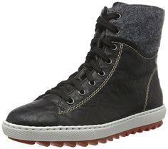 Tamaris Damen Plateau High-Top Sneakers Gefüttert Rosa, Schuhgröße:EUR 39