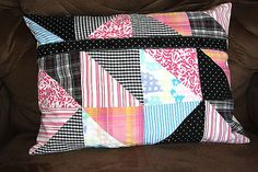 Keepsake Memory Pillow Cover Made From by stitchintimepatterns, $35.00