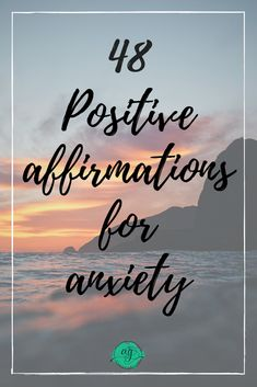 With positive affirmations in mind, you can replace those anxious thoughts with them. Anxiety is dealing with harsh, negative thoughts and beliefs on a regular basis, many of which are. Mantras For Anxiety, Positive Affirmations For Anxiety, Positive Mantras, Positive Mindset, Stress And Anxiety, Positive Outlook On Life, Positive Mental Health, Positive Attitude, Positive Thoughts