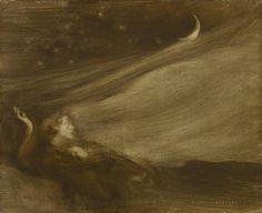 The Contemplator by Eugène Carrière