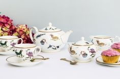 Win an Exclusive Kit Kemp Designed Tea Set from Wedgwood!     (Worth £450)