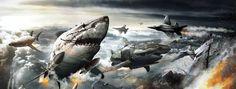 New 'Sky Sharks' trailer brutally penetrates your eyeballs!!!
