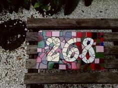 Image result for mosaico numeros de casa