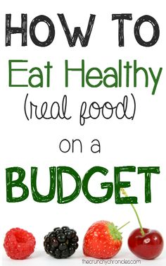 Need to save on your grocery budget but still want to eat healthy, real food? Here are some great tips for saving money on healthy and organic food!
