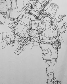 And another old sketch. A friend from University. . . . . . . . . . . . . #art #arts #sketch #sketching #sketchbook #cgceylan #marine #army #military #ink #inked #friend #character #draw #kitap #drawing #geek #bag #accessories #comics #cartoon #costume #music #bass #player #blaze by cem_g_ceylan