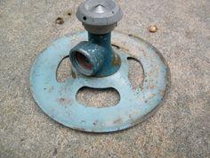 Lawn Sprinkler / Garden / Industrial Sculpture by assemblage333, $35.00