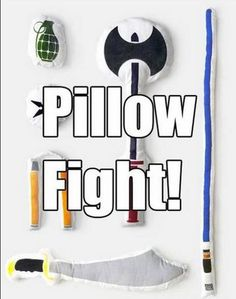 This would be the best pillow fight ever!