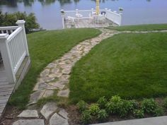 path to pond