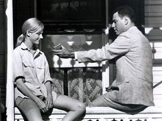 """""""The Heart is a Lonely Hunter"""", based on first novel by southern writer Carson McCullers when she was only 23 years old. The movie, from 1967, starred Alan Arka and Sondra Locke and was filmed in SELMA, Alabama"""