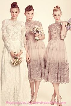 Bridesmaid Dress,Bridesmaid Dress lace is in