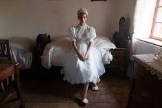 Daalarna FOLK Bridal Collection Inspired by Hungarian Folk-art Elements Sheath Wedding Gown, Wedding Gowns, Wedding Dress Styles, Bridal Dresses, Pearl Decorations, Royal Ascot, Perfect Pink, Shape Design, Buckingham Palace