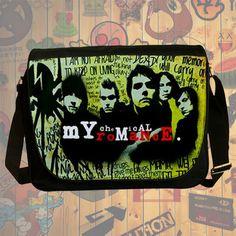 NEW HOT!!! My Chemical Romance Messenger Bag, Laptop Bag, School Bag, Sling Bag for Gifts & Fans #04