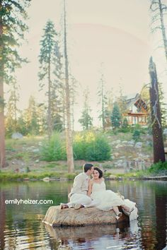 Wedding in the woods at the hideout near kirkwood california outside lake tahoe area. Description from pinterest.com. I searched for this on bing.com/images