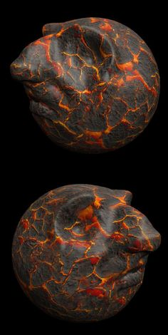 Cracked Lava Hydrographic Pattern