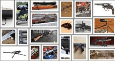 50 Greatest Guns: the firearms that shaped the world.