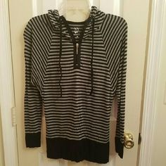 ##SALE TODAY ONLY## NYC sport shirt FIRMED PRICE. Like new, used once with care New York & Company Tops Sweatshirts & Hoodies