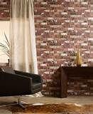 Image detail for -faux brick wallpaper - Walmart.com