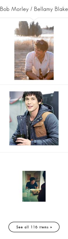 """""""Bob Morley / Bellamy Blake"""" by reclaimingnights ❤ liked on Polyvore featuring bob morley, pictures, home, home decor, 100, the 100, kitchen & dining, accessories, morley and boys"""