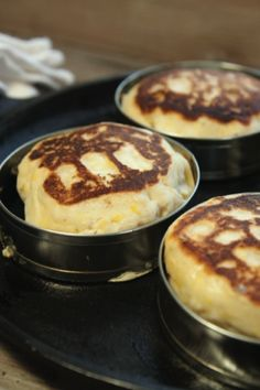 Quick and Easy English Muffins (gluten free)