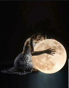 poemas Moon Photography, Creative Photography, Amazing Photography, Full Moon Tonight, Luna Moon, Fable, Montage Photo, Model Foto, Moon Magic