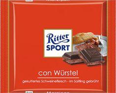 Ritter SPORT - con Würstel