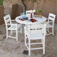 Classics 5-piece Dining Set by Ivy Terrace