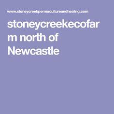 stoneycreekecofarm north of Newcastle