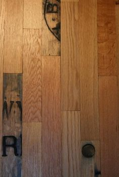 reclaimed whiskey barrels for flooring