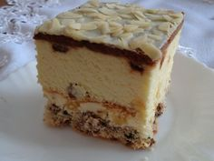 Sernik Ryzyka Desserts With Biscuits, Polish Recipes, Tiramisu, Ale, Cheesecake, Food And Drink, Sweets, Ferrero Rocher, Layer Cakes