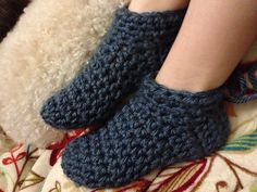 Ravelry: knicole73's Crochet Slippers
