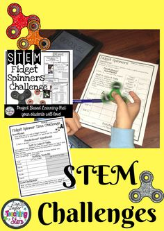 Fidget Spinner STEM Activity is a packet of experiments your students will love! Fidget Spinners are the latest trend in classrooms! Even though it might drive you crazy, it will engage your students in learning about collecting data, making observations, and opinion writing. Students will SPIN for this activity! This activity can also be used for STEAM Activities, Maker Spaces, Tinkering Labs, After School Clubs, or Summer Programs.