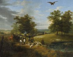 Charles Ferdinand d'Artois Duc de Berry, Shooting an Eagle in the Forest of Fontainebleau Spanish Armada, Art Uk, Ferdinand, French Art, Oil Painting On Canvas, Eagles, Berry, Study, Paris