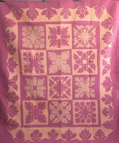 Hawaiian Sampler, Rosas Quilts