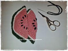 Buraczki z arbuzem Crochet Things, Crochet Earrings, Crochet Hats, Handmade, Diy, Jewelry, Fashion, Knitting Hats, Moda