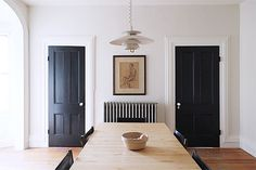 There's a reason black is a classic: it's dark, it's beautiful, it matches with almost everything. And it's a great way to add a little contrast, drama and depth to an interior that needs a little extra pizazz. Here are seven weekend painting projects that will add a little bit of black — and a whole lot of style — to your home.