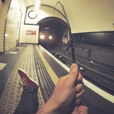 James Popsys proudest picture, 'Fishing for Trains'.