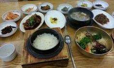 전주 중앙회관 육회비빔밥