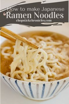 Easy homemade ramen noodles recipe without using a noodle-making machine. You can make delicious noodles at home with just 4 ingredients. #japaneseramen #noodlerecipes #recipes #noodlerecipeseasy #noodlerecipessoup  #noodles #recipeseasy #ramennoodlerecipes Ramen Noodle Recipes Homemade, Soup Recipes, Cooking Recipes, Japanese Noodle Dish, Japanese Ramen Noodles, Japanese Street Food, Japanese Food, Ramen Restaurant, Asian Recipes