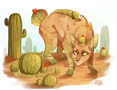 Cacti by MapleSpyder on DeviantArt