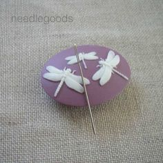 DRAGONFLY needle minder magnetized needle holder by needlegoods, $9.50